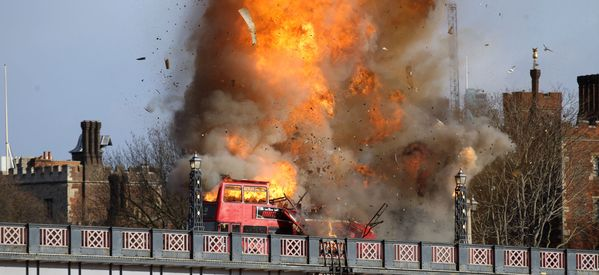 Confusion As London Bus Is Blown Up For New Jackie Chan Movie