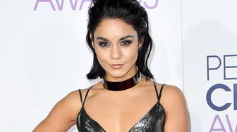 LOS ANGELES, CA - JANUARY 06:  Actress Vanessa Hudgens arrives at the People's Choice Awards 2016 at Microsoft Theater on January 6, 2016 in Los Angeles, California.  (Photo by Allen Berezovsky/Getty Images)