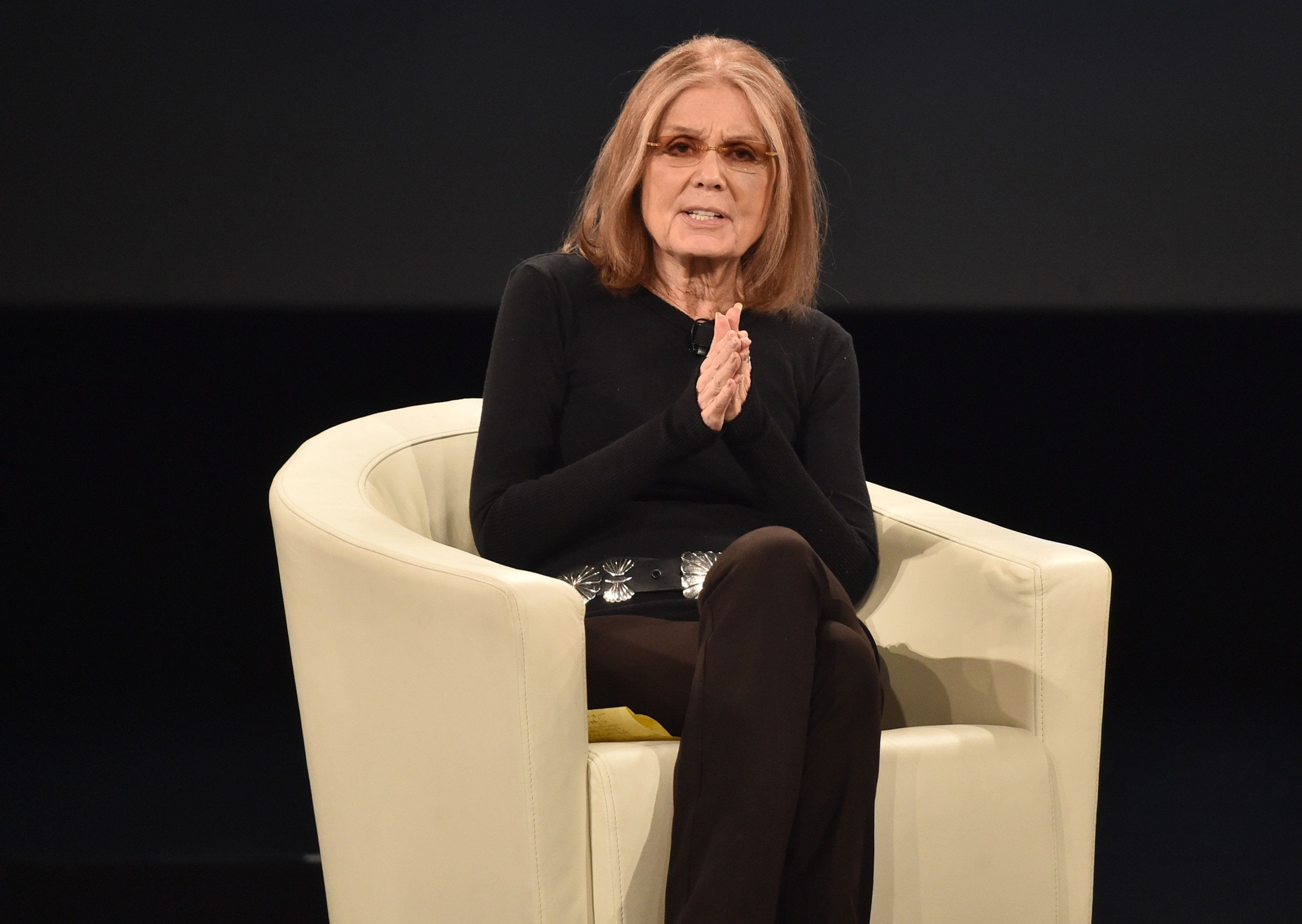 """Gloria Steinem apologized for her comments on Friday and wrote that she """"misspoke."""""""
