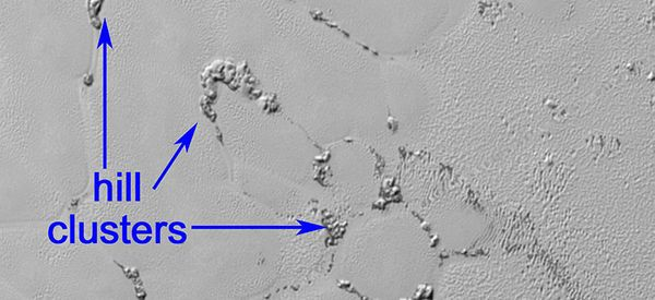 Pluto's Mysterious 'Floating Hills' Revealed In New NASA Images