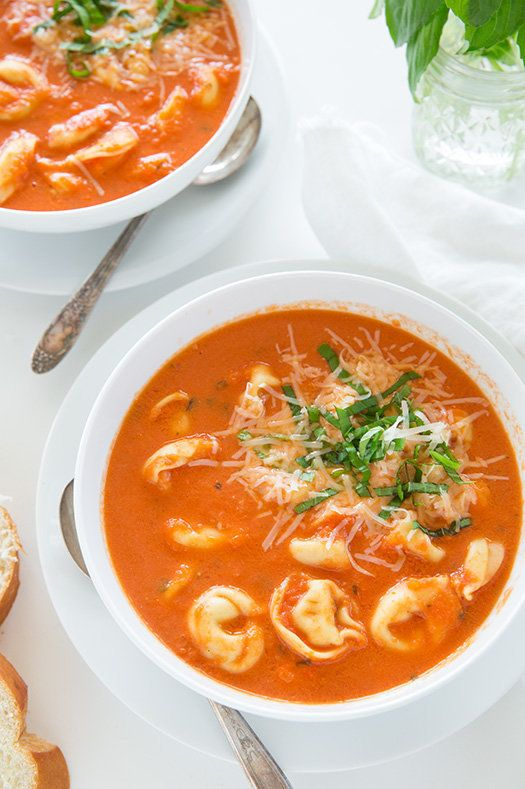 """<strong>Get the <a href=""""http://www.cookingclassy.com/2014/09/slow-cooker-creamy-tomato-basil-tortellini-soup/"""" target=""""_blan"""