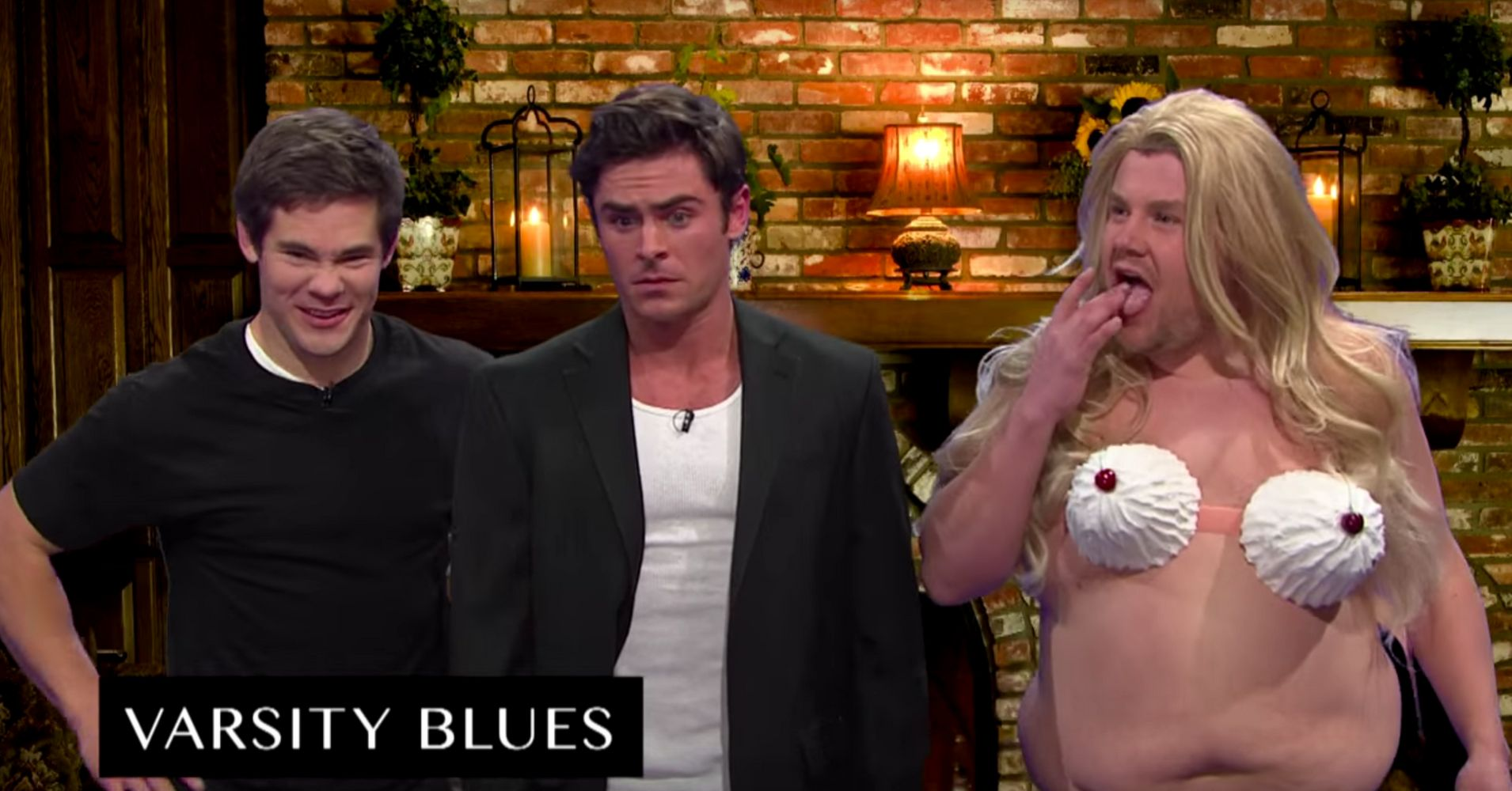 James Corden Pays Homage To 'Varsity Blues' In Whipped ...