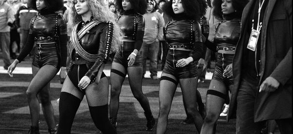 Beyoncé's Dancers Slay In Black Panther Outfits During Super Bowl Halftime Show
