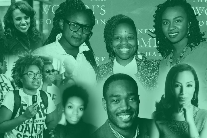 The activists of Black Future Month.