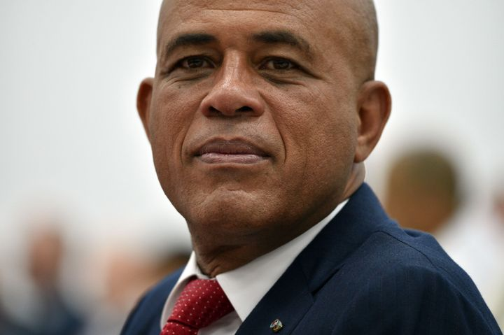 Former Haitian president Michel Martelly stepped down on Sunday without a successor.