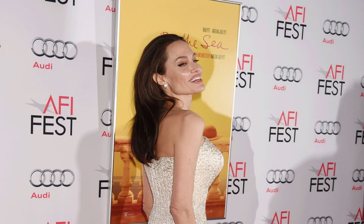Actress/director Angelina Jolie arrives at the AFI FEST 2015 presented by Audi Opening Night Gala Premiere of Universal Pictu