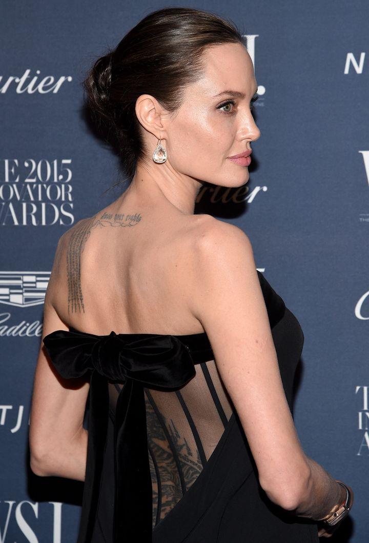 2015 Entertainment Innovator Angelina Jolie Pitt attends the WSJ. Magazine 2015 Innovator Awards at the Museum of Modern Art