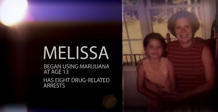 Melissa didn't begin using opiates until she was 22.