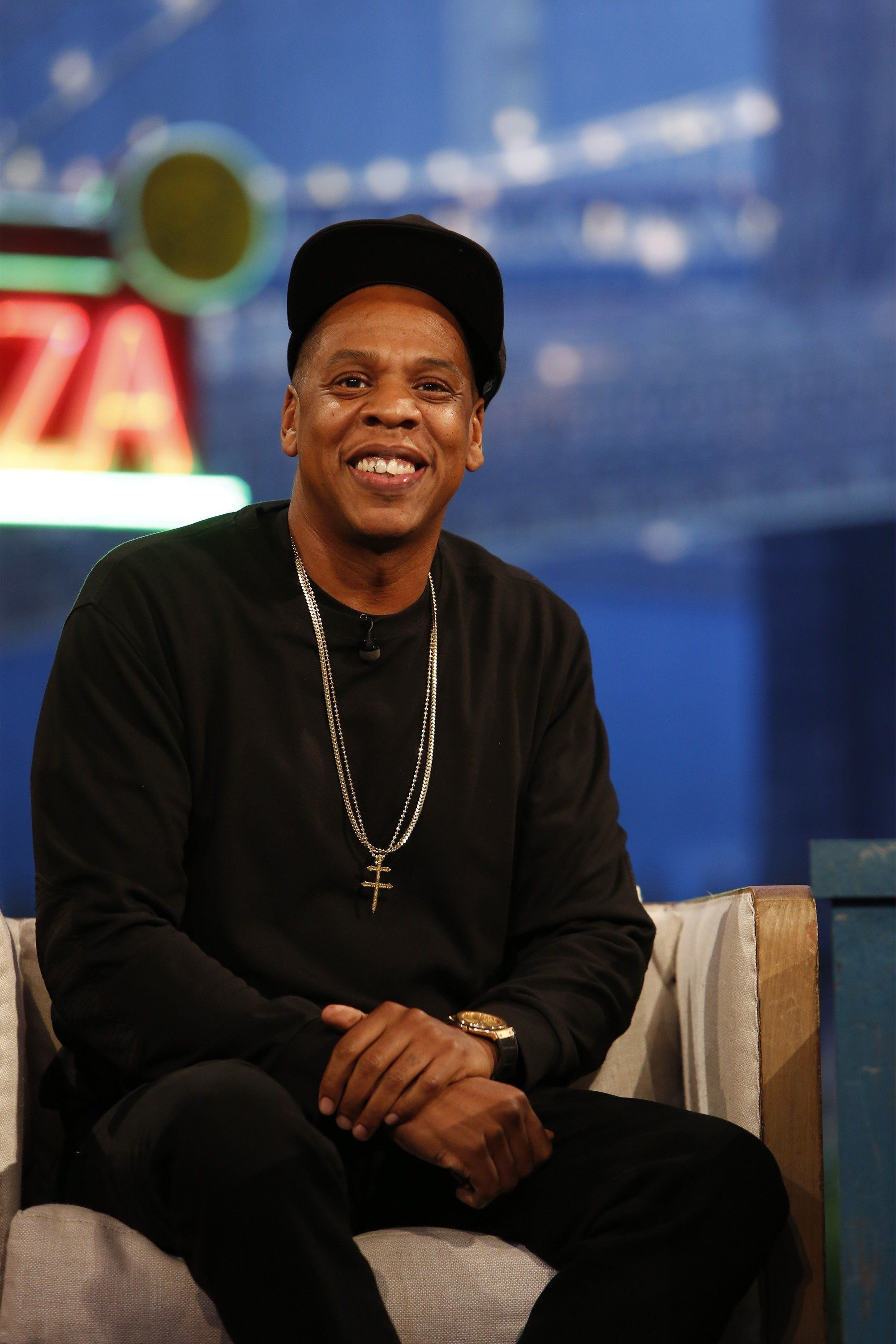 "Jay Z appeared on ""Jimmy Kimmel Live"" the night of TIDAL X: 1020, the first in a series of philanthropic music even"