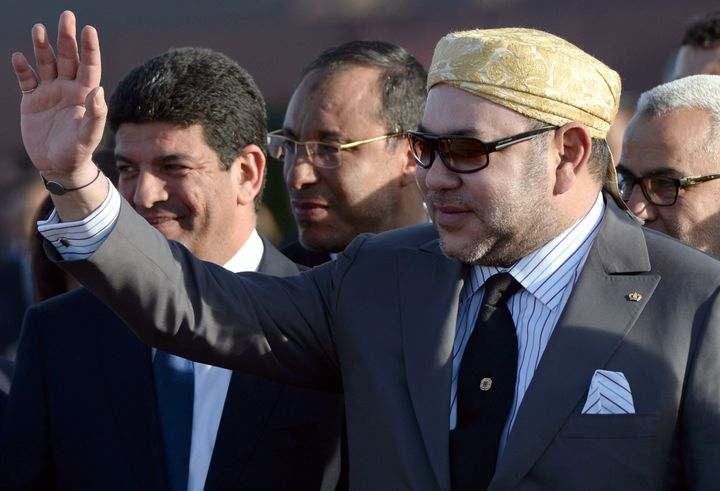 King Mohammed VI inaugurated Noor 1, the first phase of a solar plant that will provide power to 650,000 Moroccans, on F