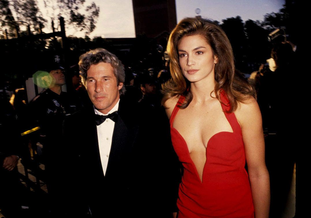 These days, Cindy Crawford says ex Richard Gere has gone back to being a stranger in her eyes.