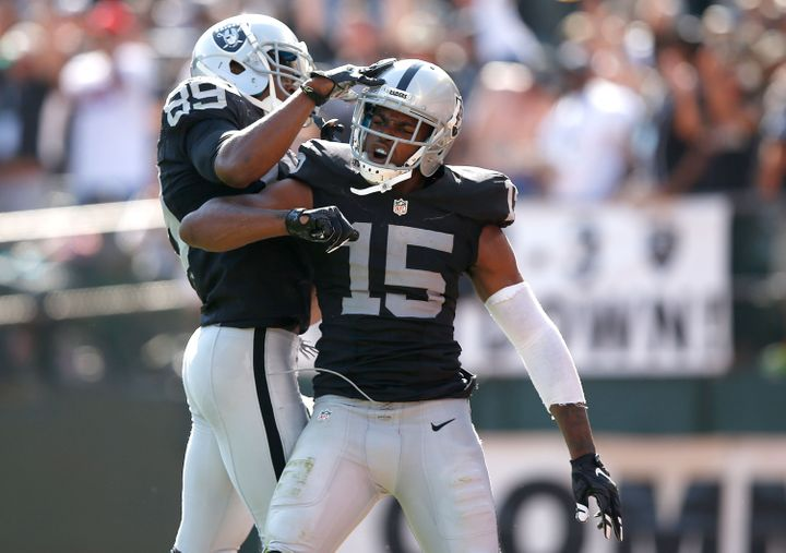 Amari Cooper led all rookie wideouts in both receptions (72) and receiving yardage (1,070), while his six touchdown catches w