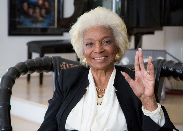 """Nichelle Nichols remained on """"Star Trek"""" for its television run, then appeared in six """"Star Trek""""films and even voiced"""