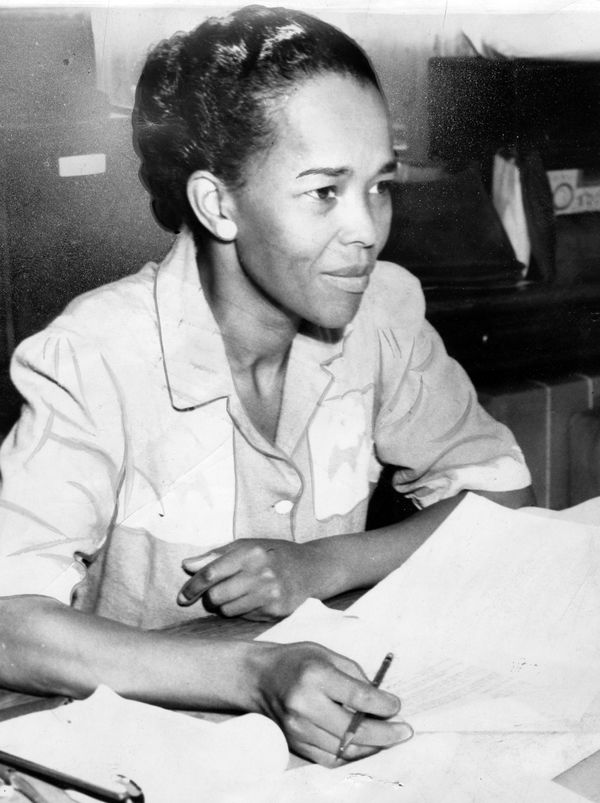 "<a href=""http://ellabakercenter.org/about/who-was-ella-baker"" target=""_blank"">Baker</a> was the national director for the NAA"