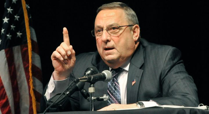 Maine Gov. Paul LePage (R) says drug dealers come to the state and impregnate white women.