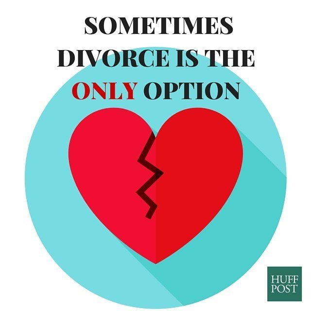 Whatever you do dont say divorce is not an option huffpost annaleni solutioingenieria Choice Image
