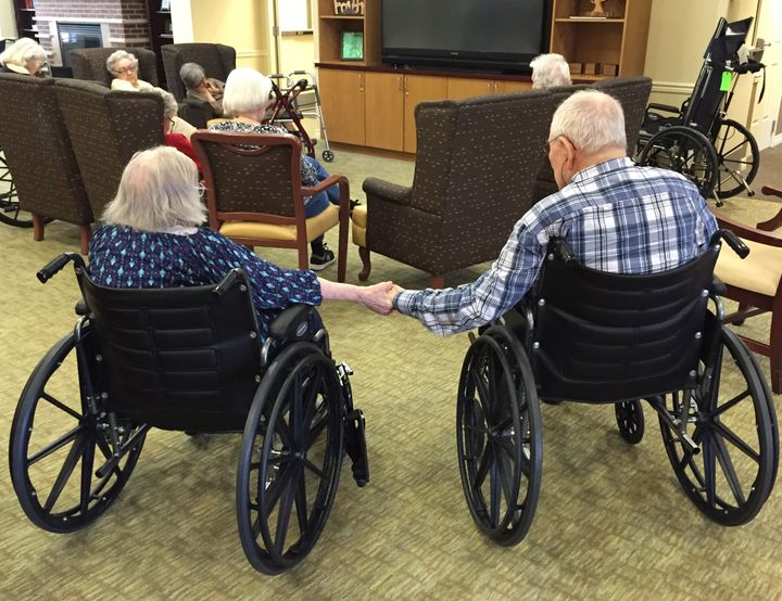 During the last three weeks of their lives, the couple held hands almost constantly.