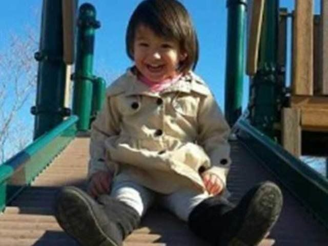 2-year-old Denise Tirado was hospitalized after being ejected from her father's car in a police chase in Colorado Tuesday, au