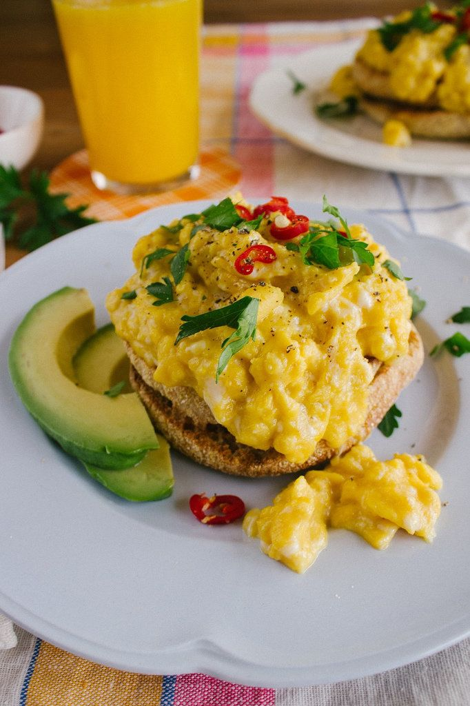 What's better than great scrambled eggs?