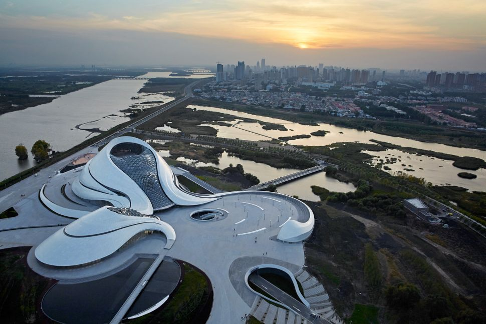 "<strong>Who:&nbsp;</strong>MAD Architects<strong><br>What: <a href=""http://www.archdaily.com/778933/harbin-opera-house-mad-ar"