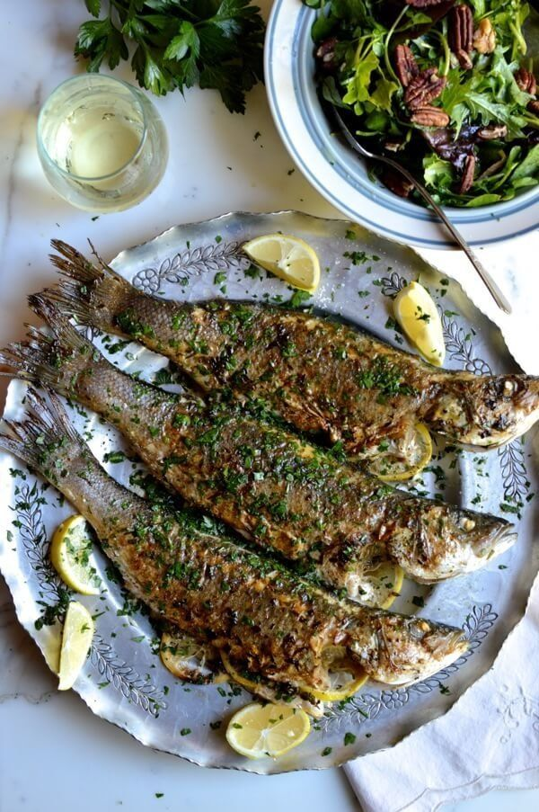 "<strong>Get the <a href=""http://thewoksoflife.com/2014/10/lemon-soy-roasted-branzino/"" target=""_blank"">Lemon Soy Roasted Bran"