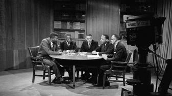 The New York Times photographer snapped Dr. King's picture as he participated in a round table that was broadcast on NBC.