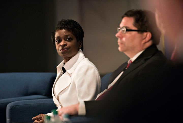 "FCC commissioner Mignon Clyburn said new rules on prison phone services ""will finally bring relief to the 2.7 million ch"