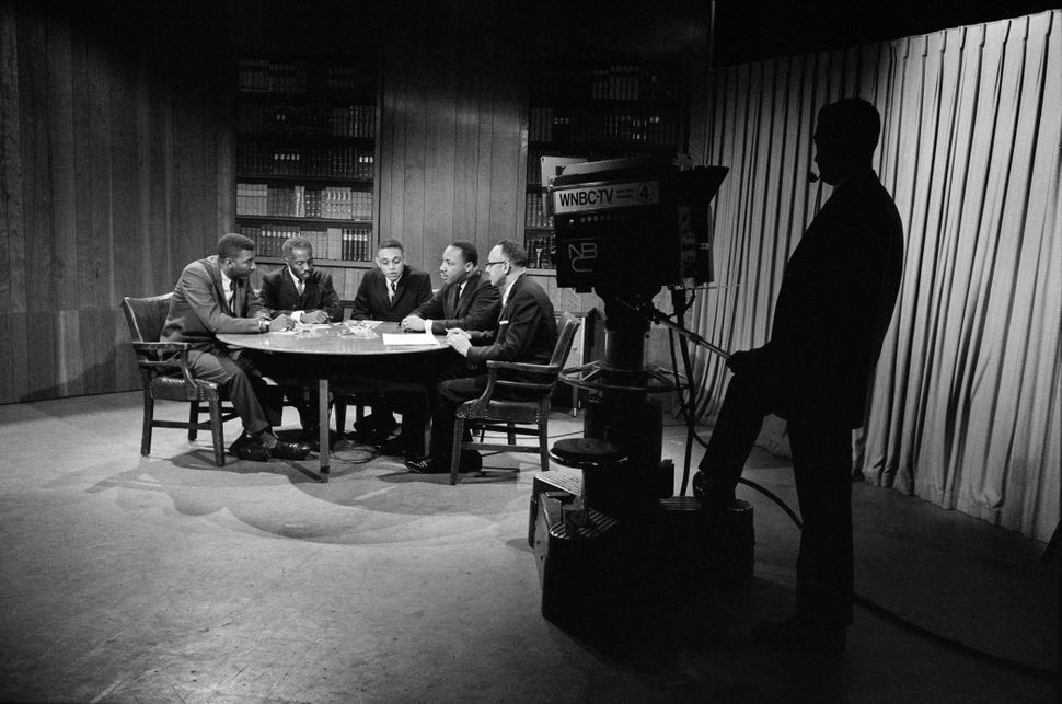 The New York Times photographer snapped Dr. King'€™s picture as he participated in a roundtable that was broadcast on NBC.