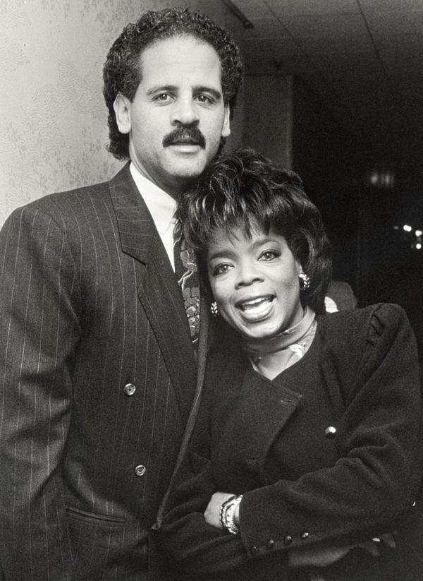Oprah Winfrey and Stedman Graham attending the 9th Annual National Conference For Women in 1989.