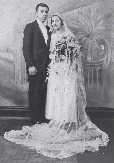 John and Ann Betar on their wedding day in 1932.