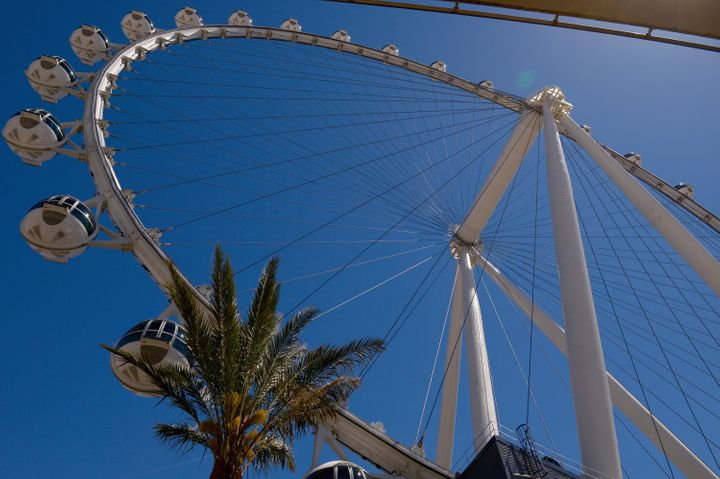 Las Vegas' High Roller observation wheel is touted as the world's highest observation wheel.