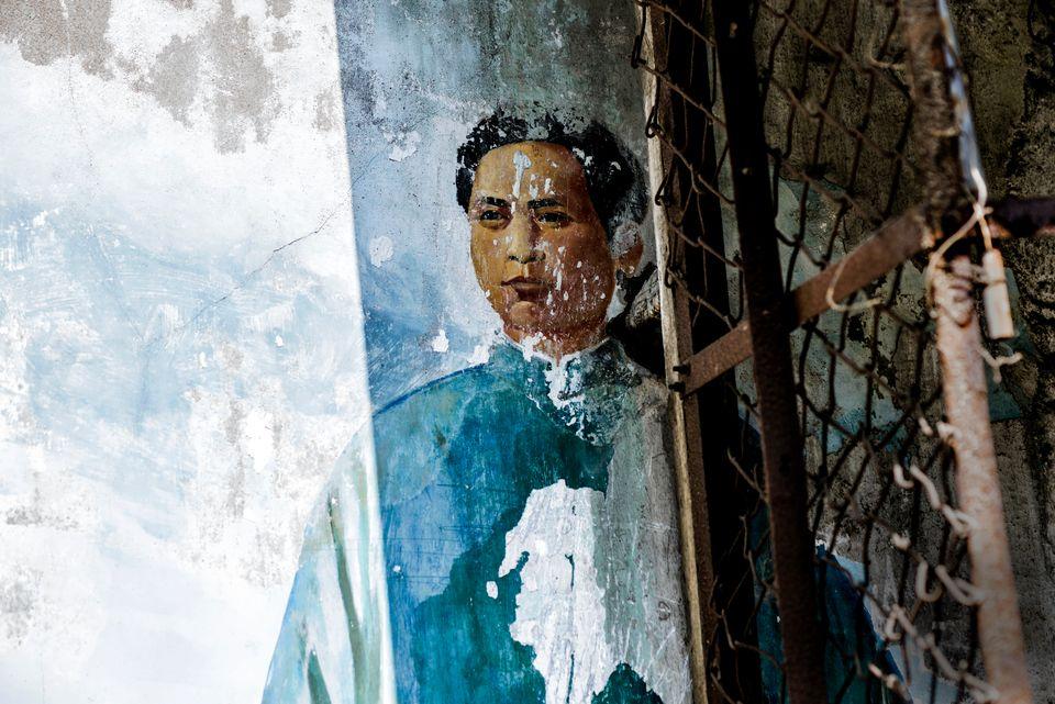 "GRAHAM FINK/RIFLEMAKER GALLERY ""Mao was Here"""