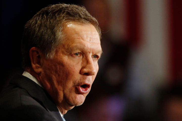 GOP presidential contender and Gov. John Kasich is the target of a five-figure ad buy of Planned Parenthood Advocates of Ohio