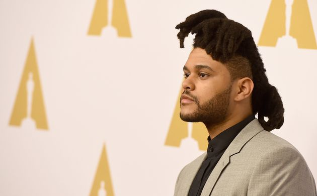 Singer-songwriter the Weeknd attends the 88th Annual Academy Awards nominee luncheon on February 8, 2016...