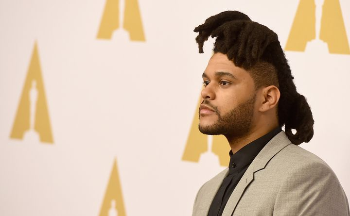 Singer-songwriter the Weeknd attends the 88th Annual Academy Awards nominee luncheon on February 8, 2016 in Beverly Hills, Ca
