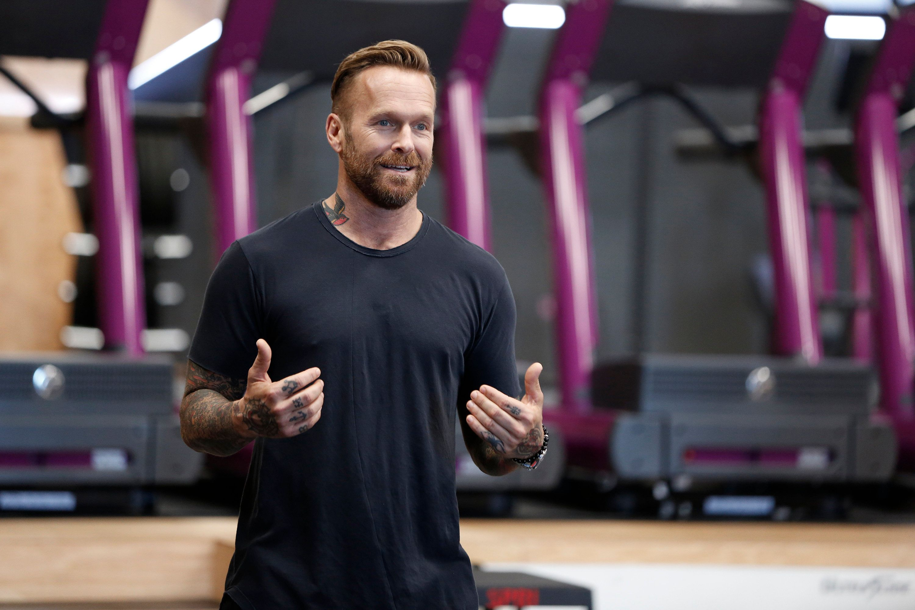 THE BIGGEST LOSER -- 'Keep On Truckin'' Episode 1703 -- Pictured: Bob Harper -- (Photo by: Tyler Golden/NBC/NBCU Photo Bank via Getty Images)