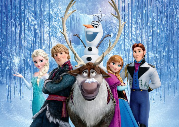 "The United Kingdom poster for Disney's ""Frozen."""