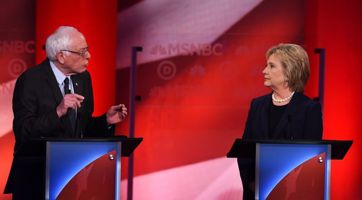 Sen. Bernie Sanders and former Secretary of State Hillary Clinton both see a role for the federal government in reforming cri