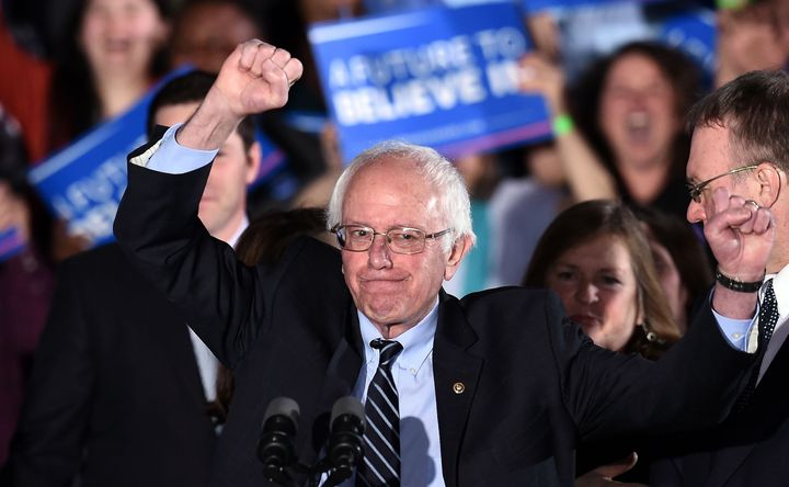 For instance, Bernie Sanders could win more primaries.