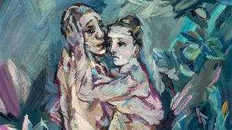 Two Nudes (Lovers) Oskar Kokoschka (Austrian, 1886–1980) 1913 Oil on canvas. Bequest of Sarah Reed Platt c. 2015 Fondation Oskar Kokoschka / Artists Rights Society (ARS), 