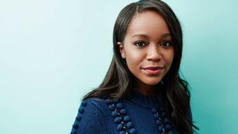 Aja Naomi King of 'The Birth of a Nation' poses for a portrait at the 2016 Sundance Film Festival Getty Images Portrait Studio Hosted By Eddie Bauer At Village At The Lift on January 25, 2016 in Park City, Utah