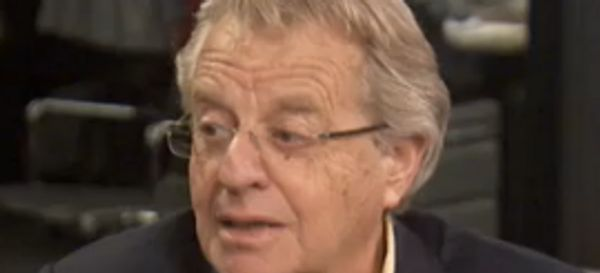 Jerry Springer Reminisces About Guest Who Cut Off His Own Penis