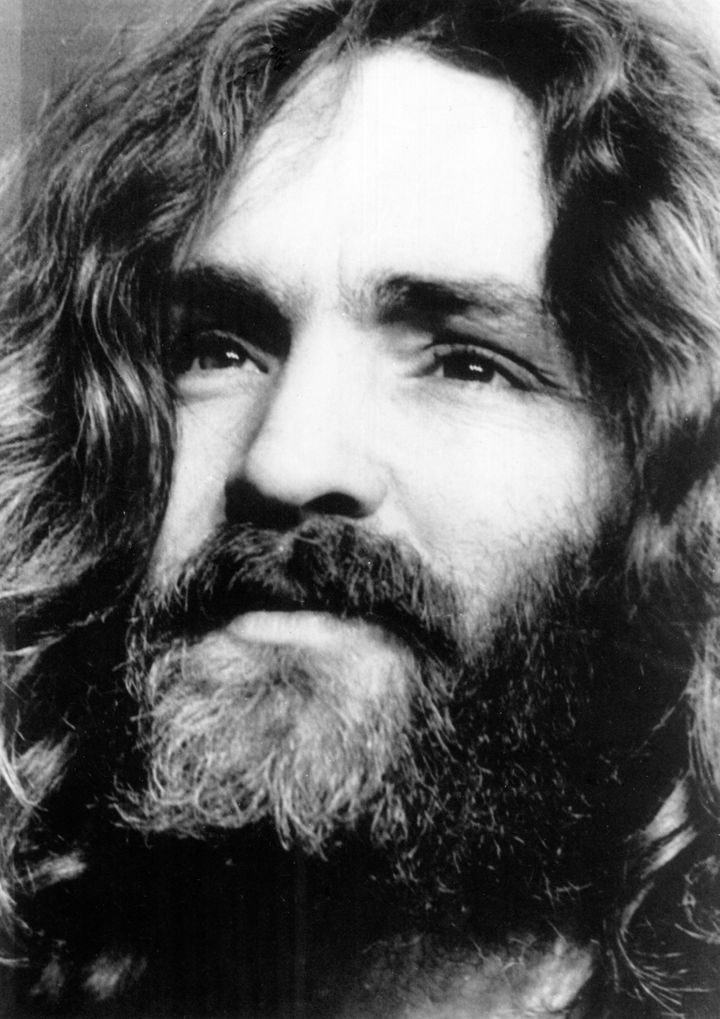 Charles Manson as he looked in the 1970s.