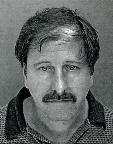 Salvatore Perrone is pictured in this 2001 booking photo from the Franconia Township Police Department, in Telford, Pennsylva