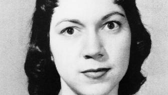 Irene Garza photographed April 21, 1960.