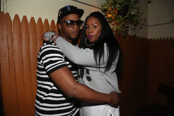 The couple in 2014, shortly after Remy-Ma's release from prison.