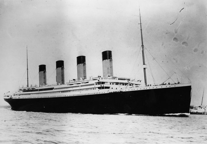 "The ""unsinkable"" White Star liner RMS Titanic, pictured, struck an iceberg and sank during her maiden voyage across the Atlantic in 1912, killing more than 1,500 people."