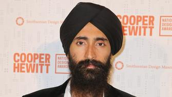 NEW YORK, NY - OCTOBER 15:  Waris Ahluwalia attends the 2015 National Design Awards Gala at Pier Sixty at Chelsea Piers on October 15, 2015 in New York City.  (Photo by Ryan Liu/Getty Images)
