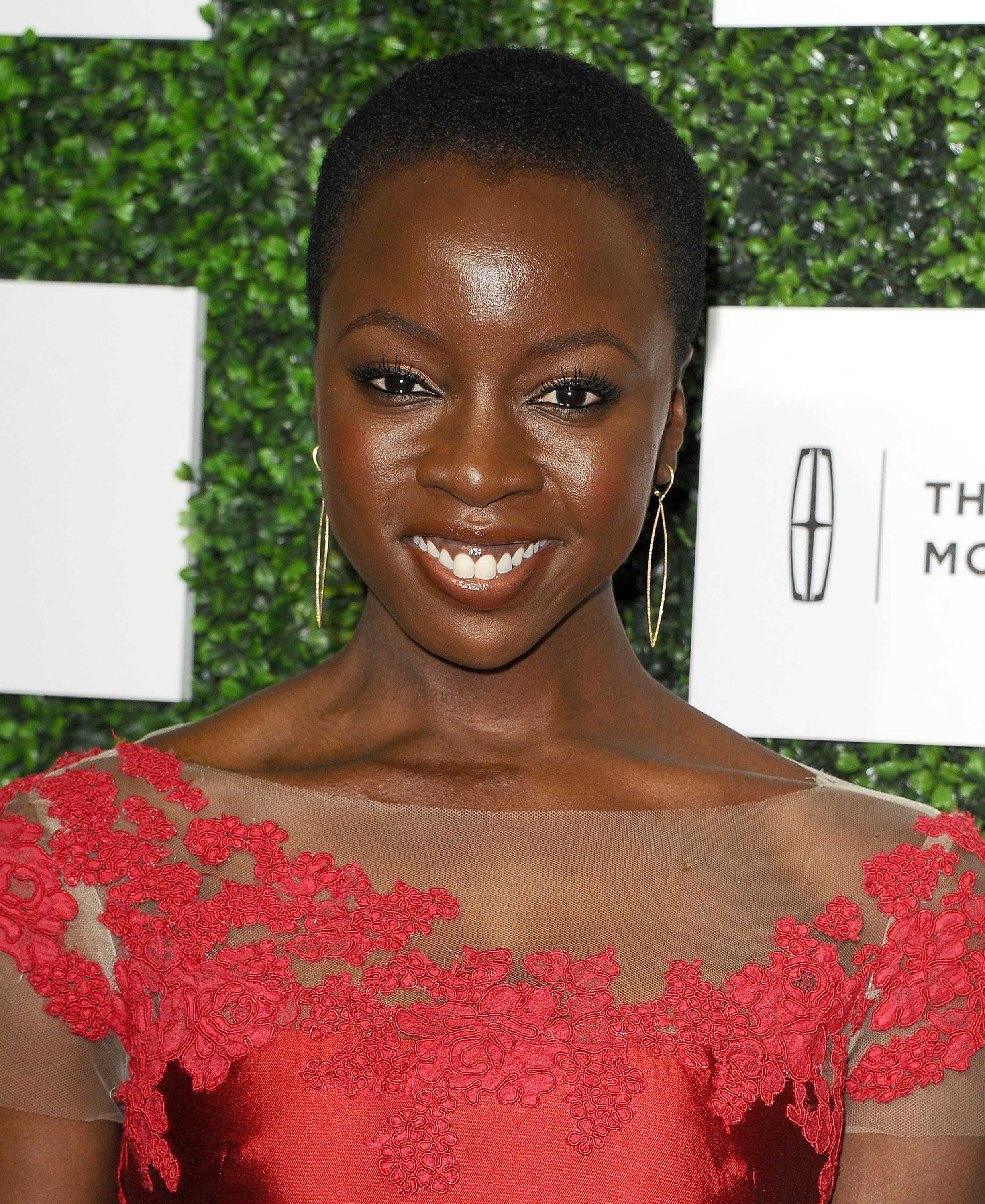 BEVERLY HILLS, CA - FEBRUARY 27:  Actress Danai Gurira attends the 7th annual ESSENCE Black Women In Hollywood luncheon at Beverly Hills Hotel on February 27, 2014 in Beverly Hills, California.  (Photo by Jason LaVeris/FilmMagic)