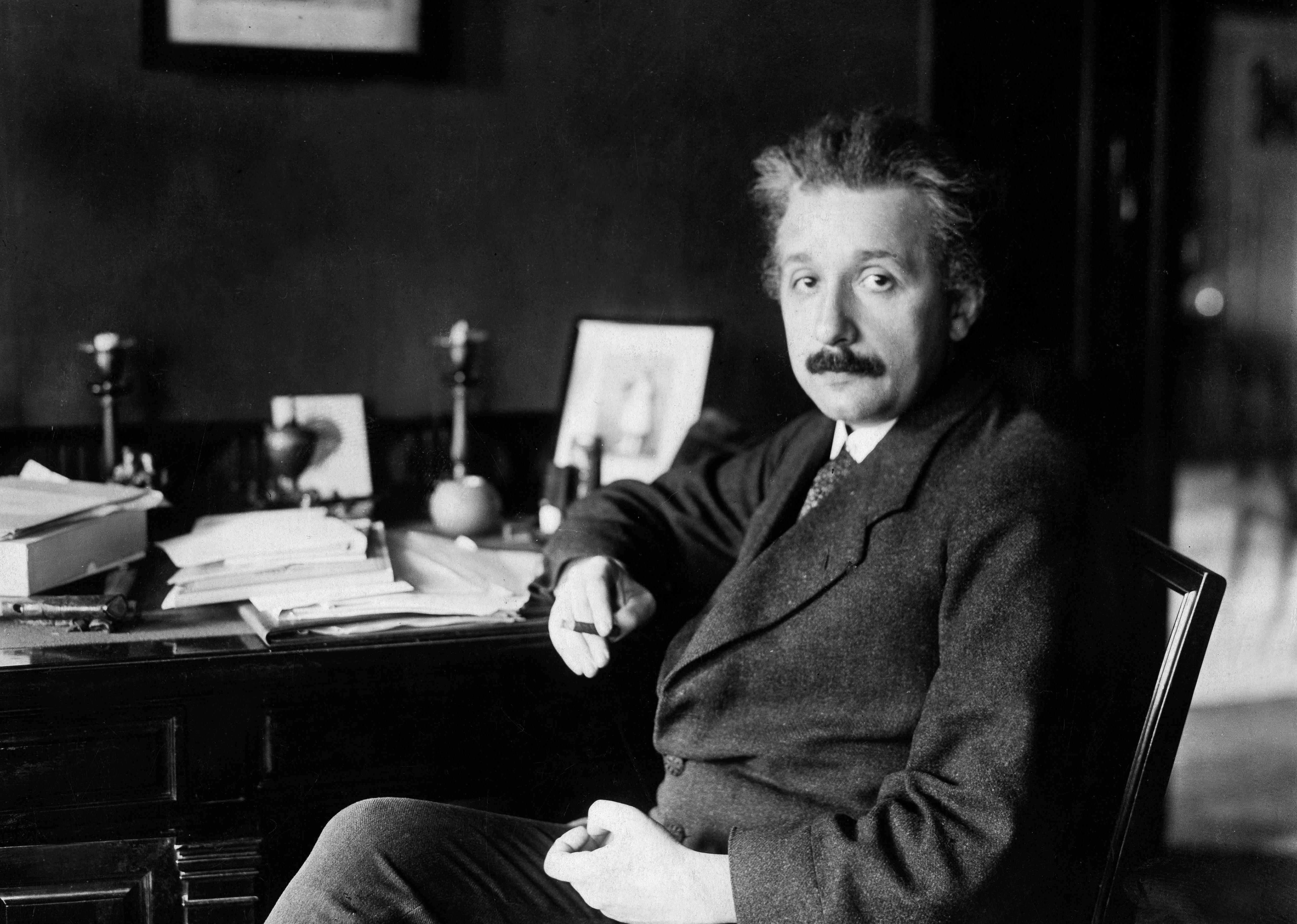 Albert Einstein at his desk in Germany in 1929. It was years prior, in 1916, whenhepredicted...